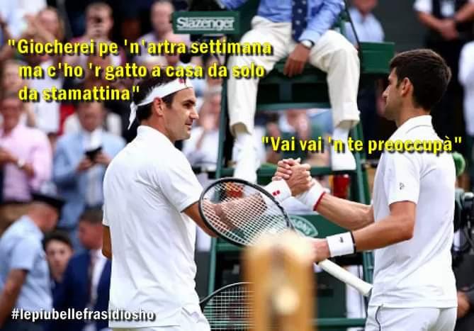 #WimbledonFinal
