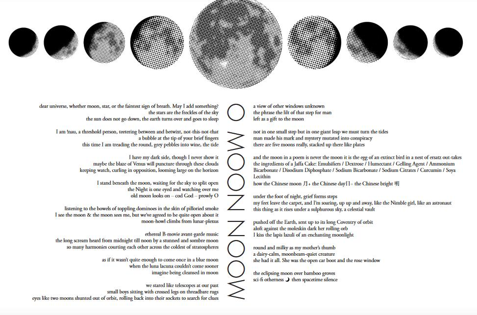 test Twitter Media - Buy commemorative poem to mark #MoonLanding50th   I have my dark side, though I never show it maybe the blaze of Venus will puncture through these clouds keeping watch, curling in opposition, looming large on the horizon  A collaborative poem by 44 poets  https://t.co/HXcVkpuCsQ https://t.co/0PRB01CNK2