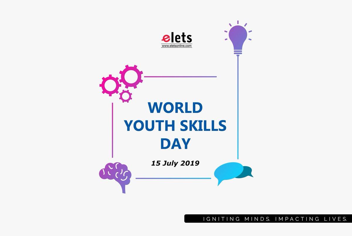 test Twitter Media - Elets Technomedia Pvt Ltd extends best wishes to all the youths across the globe on World Youth Skills Day for their successful life ahead.  #education #WorldYouthSkillsDay   @HRDMinistry @MSDESkillIndia @eletsonline @ravigupta1000 @kartiksharma0 @chandananand26 https://t.co/SccDY8elK9
