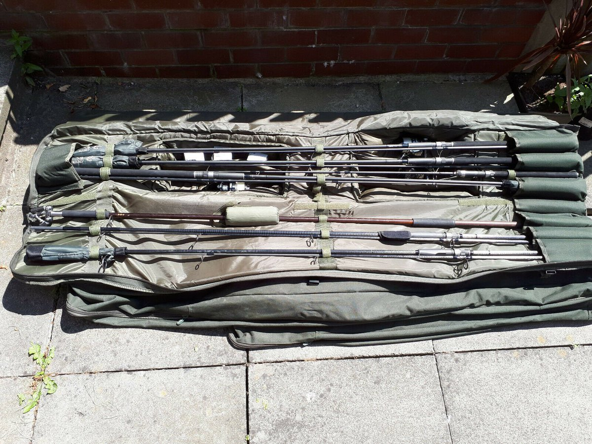 Ad - Full 6 rod carp set up.for sale On eBay here --&<b>Gt;</b>&<b>Gt;</b> https://t.co/wPXcPfsn1T