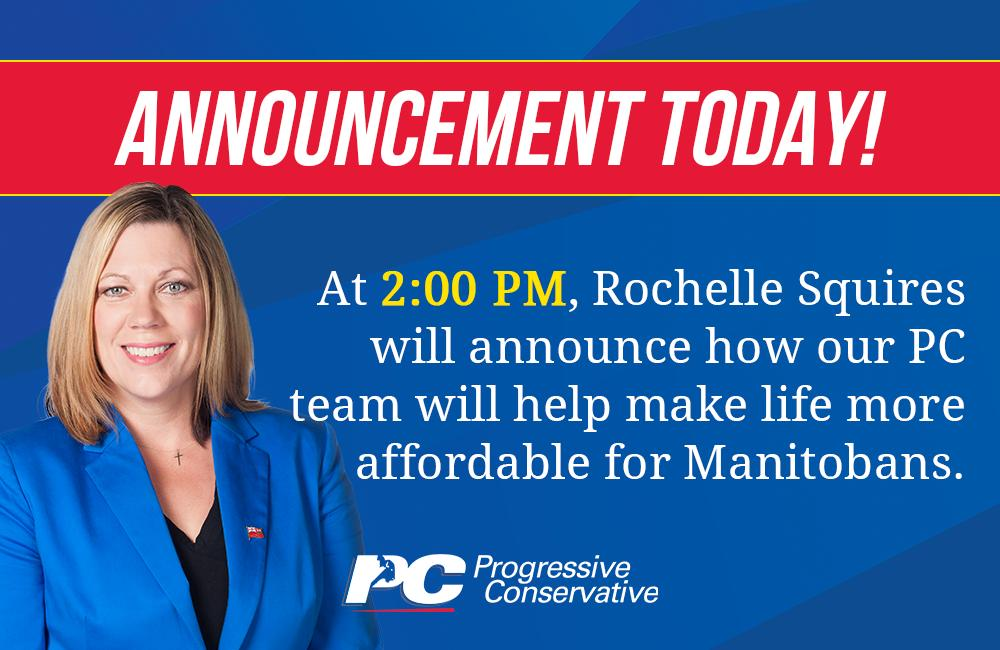 test Twitter Media - New announcement today to keep making life more affordable for Manitobans!   Watch our Facebook page around 2:00 PM: https://t.co/KvAK3jUvKs   #mbpoli #BetterMB https://t.co/WtLoGTCdIf
