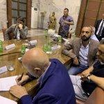 Ex #Ilva: firmato verbale di accordo dopo aspro confronto al #Mise con #ArcelorMittal. https://t.co/qfgx4iHHmh