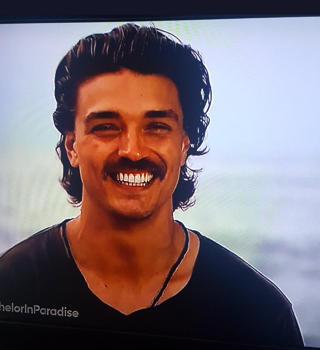 Definitely didn't expect Dean to come back looking like Keith Hernandez. #TheBachelorette https://t.co/yvaiuqF8nh
