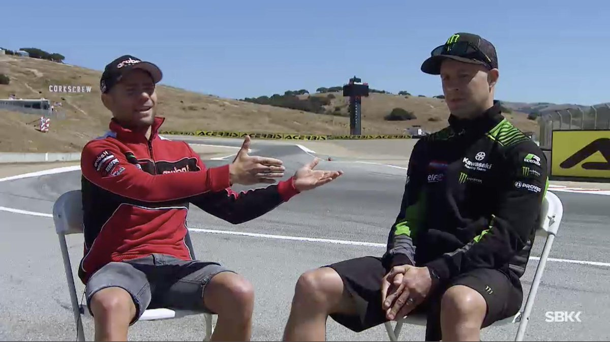 test Twitter Media - Rivalry and respect: @jonathanrea and @19Bautista sit down together to review their season!  📹VIDEO | #WorldSBK  https://t.co/0uNiQacwom https://t.co/tnYkf4Mp4u