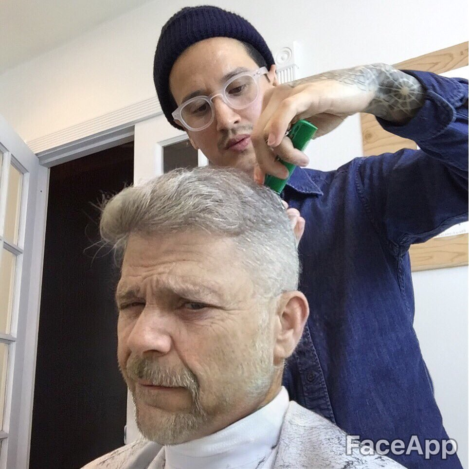 Also wanted to see what my old man fade would look like! https://t.co/WpTqsgaxlK