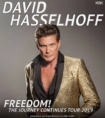 "July 17:Happy 67th birthday to actor,David Hasselhoff (""Baywatch\"")"
