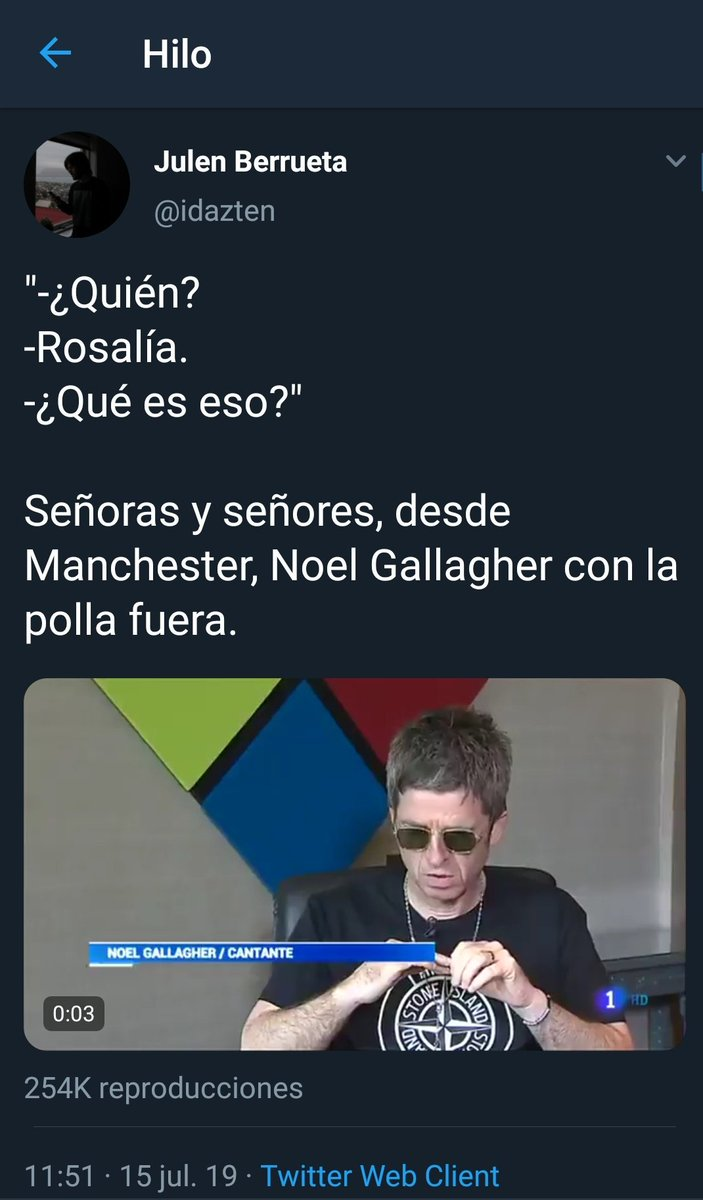 RT @cudithekid_94: Pantomima Full: edición Noel Gallagher. https://t.co/oa2VE2MIvd