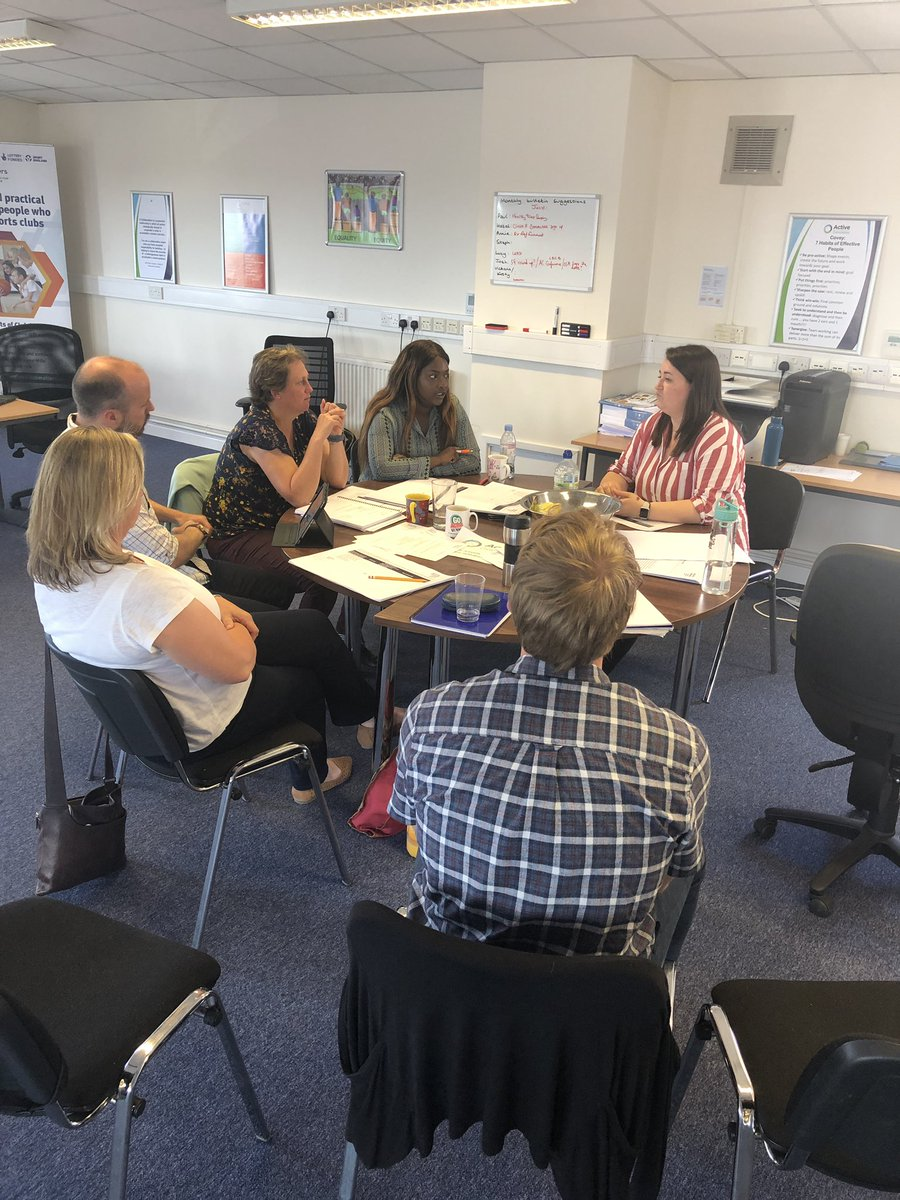 RT @Fossysport: Fantastic day in Sunny Oxfordshire delivering @AllForActivity LEAD organisational improvement to @activeoxon @OxfordCity @WodcNews Interesting discussions for improvements for their own organisations as well as collaborative improvements.