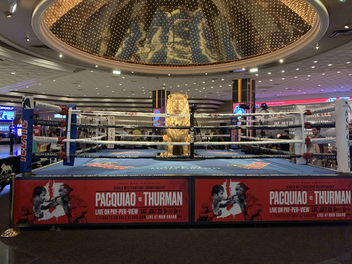 test Twitter Media - #Fightweek is underway as the fighters make their way to MGM Grand! #PacThurman https://t.co/iNklTIQE1N