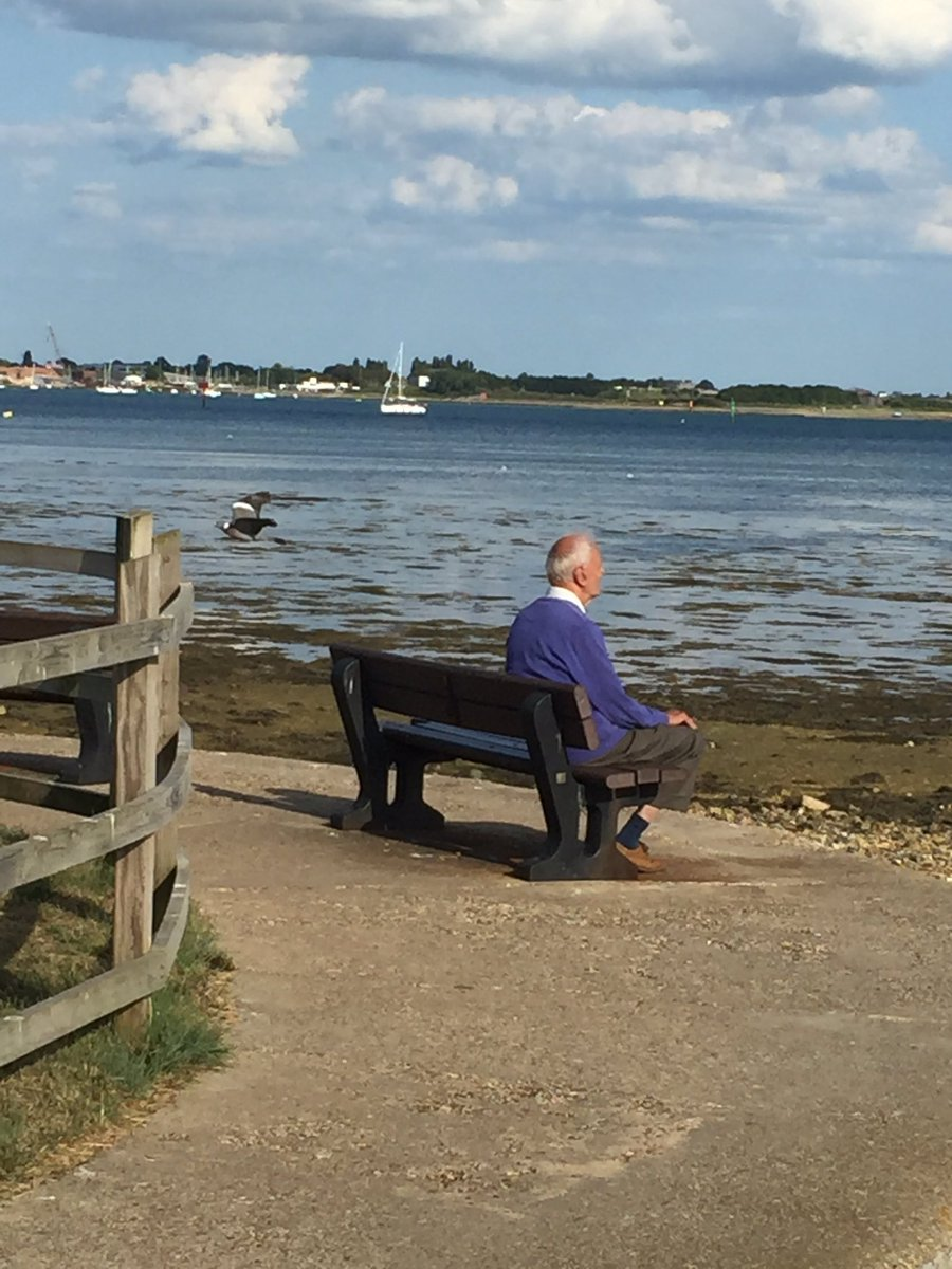Spotted Steve Rogers chilling with his thoughts in Portchester #avengerendgame https://t.co/mUYlROoo8K
