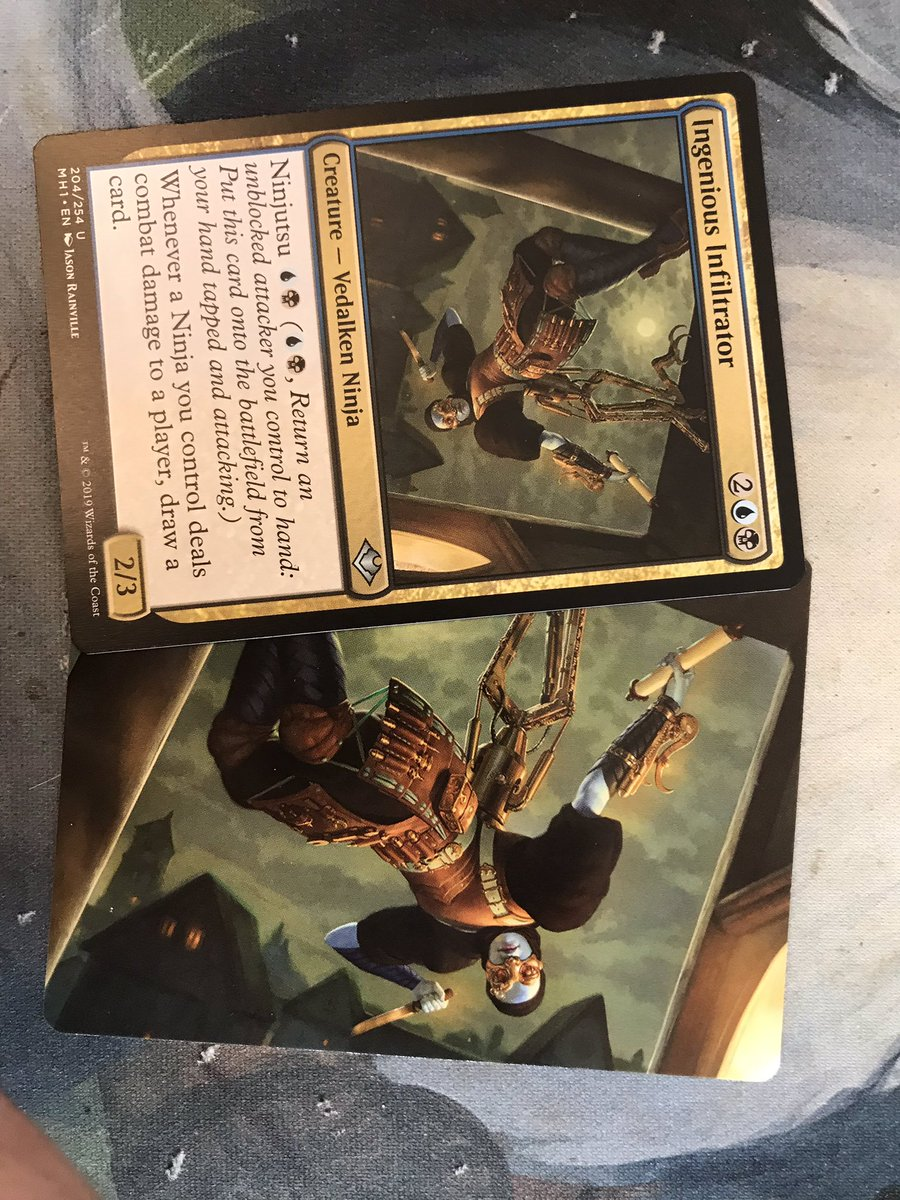 test Twitter Media - Feeling the room out on this one. Would you, my fellow #CMDR players let some rock the full art vs the actual card? I'm wanting to use the full art for my deck. #EDH #MTG https://t.co/ay422lHOKi