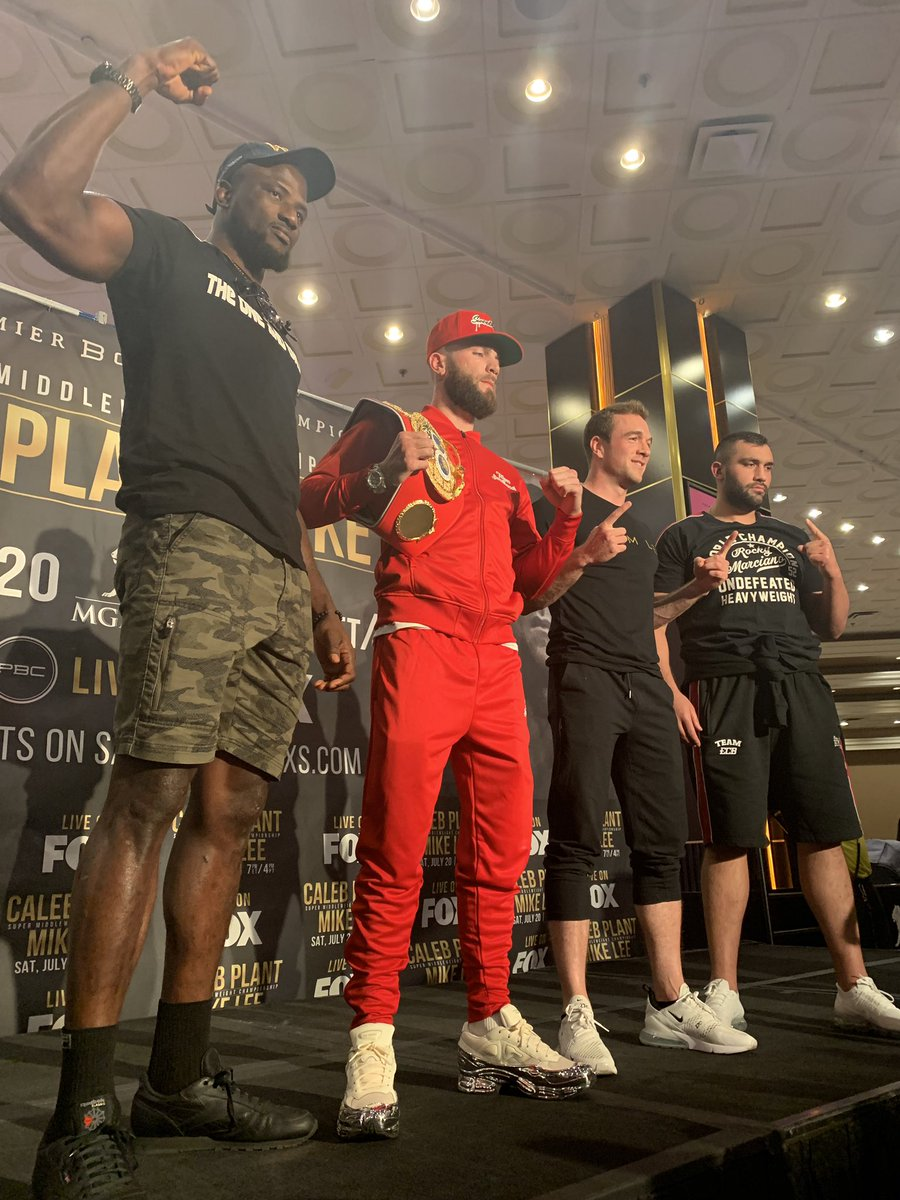 test Twitter Media - Heavyweight and Super Middleweight square off this Saturday 7/20! @AjagbaEfe #AliEren @MikeLeeBoxing @SweetHandsPlant #PacThurman https://t.co/UTsMpiyPDM