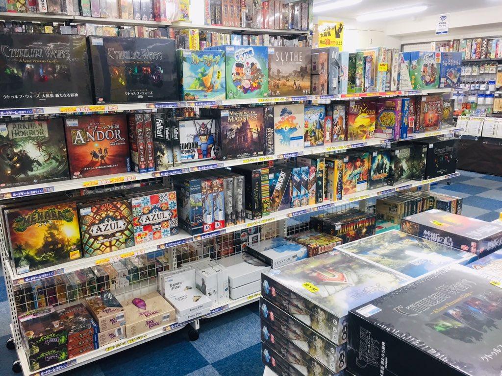 test ツイッターメディア - 駿河屋TB館本日も開店いたしました! 「新品ボードゲーム半額セール」を開催中!一部売切れ品もありますが対象のボードゲームがなんと定価の✨50%OFF✨ 中古セールも開催中!中古ボードゲームとTRPGを最大✨20%OFF✨させて頂きます! TRPGやWarhammerも取扱い強化中!ぜひご来店ください! https://t.co/qf1kNwfuee