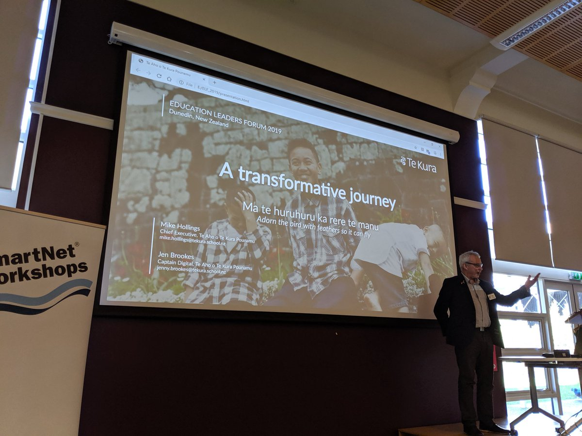 test Twitter Media - RT @TheOrganist: Mike Hollings from Te Kura talking about a Transformative Shift to Online Provision at #ELF19NZ https://t.co/Fj5PGy0gEV