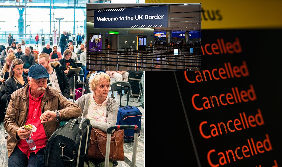 "Flights: Passengers brand Heathrow and Stansted Airport strikes ""disgusting""  