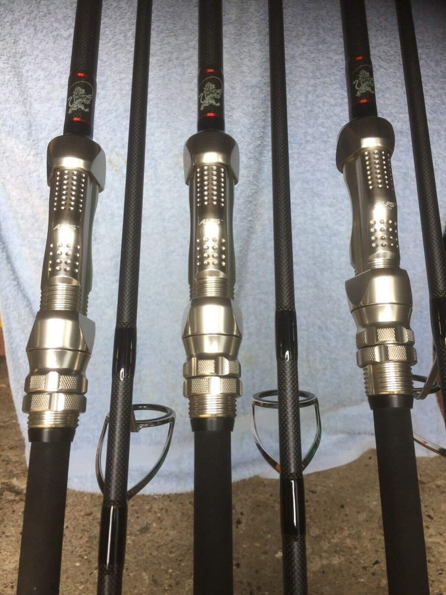 Ad - Lion Carp Rods X 3 - 36R - 3.6 tc NICK BUSS  On eBay here -->> https://t.co/jfU69RN04h  #