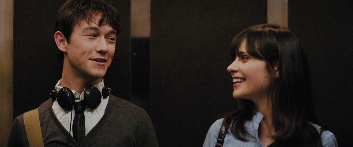 """Today's the 10 year anniversary of """"(500) Days of Summer.""""  Where did all the time go, @ZooeyDeschanel??? https://t.co/9eR6WGMoOT"""