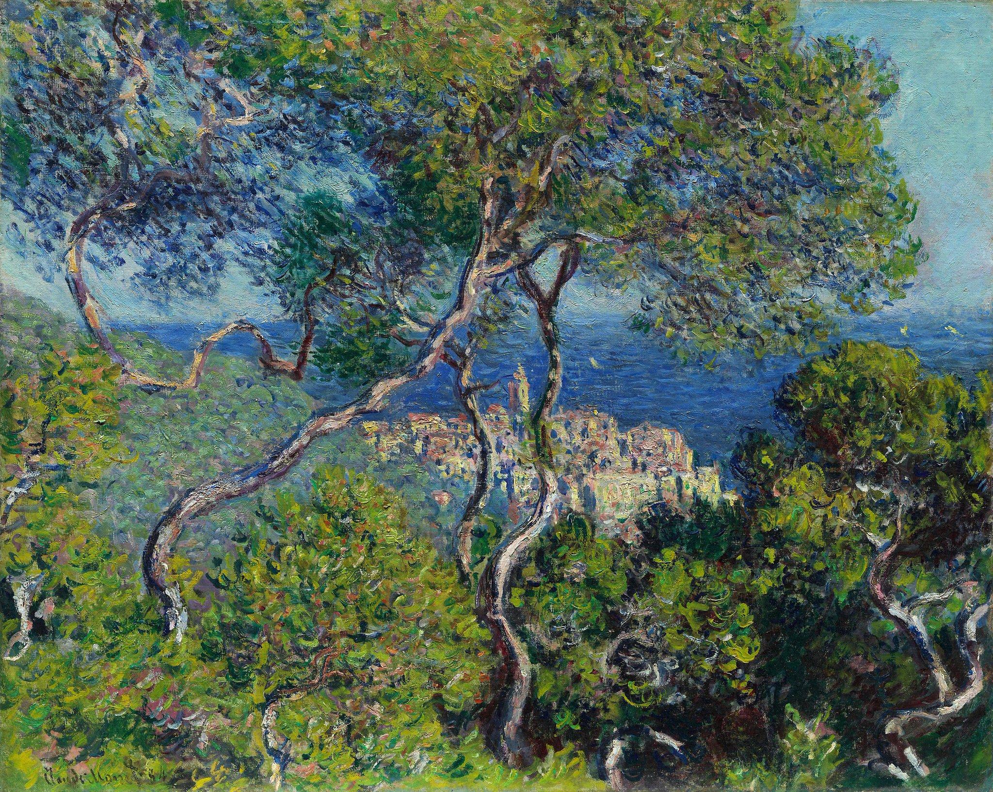 🎨 L'opera d'arte del giorno Claude Monet, Bordighera, 1884, Art Institute of Chicago, Usa.  #CondividiLaCultura https://t.co/t17PJtOo1g