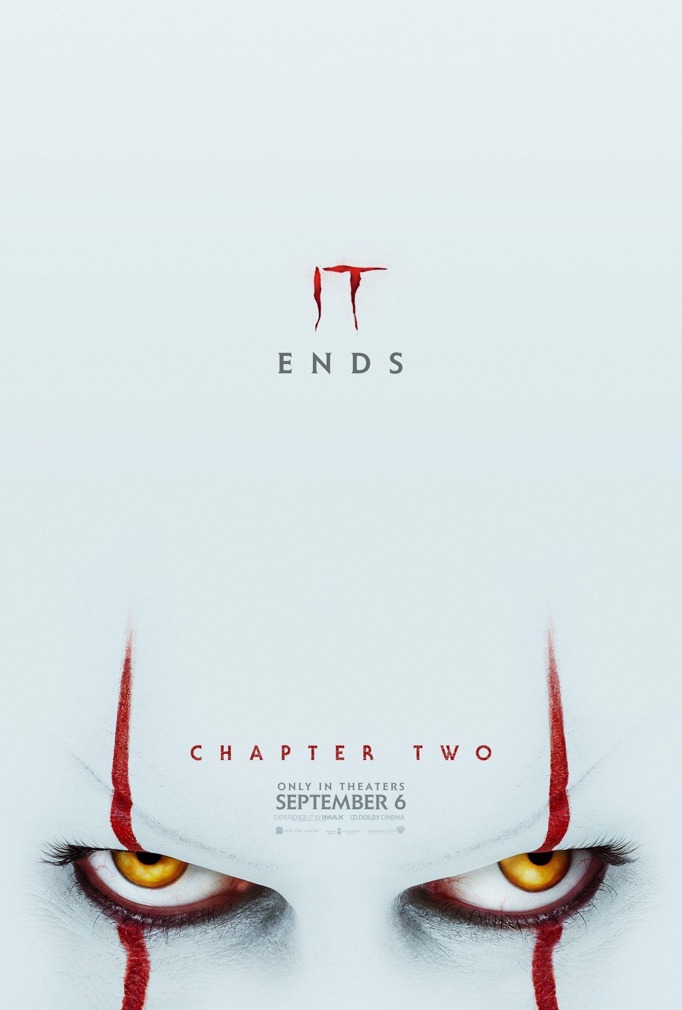 IT ends September 6. Trailer TOMORROW 9AM PT. 🎈🎈#ITMovie https://t.co/JY6o96JioH
