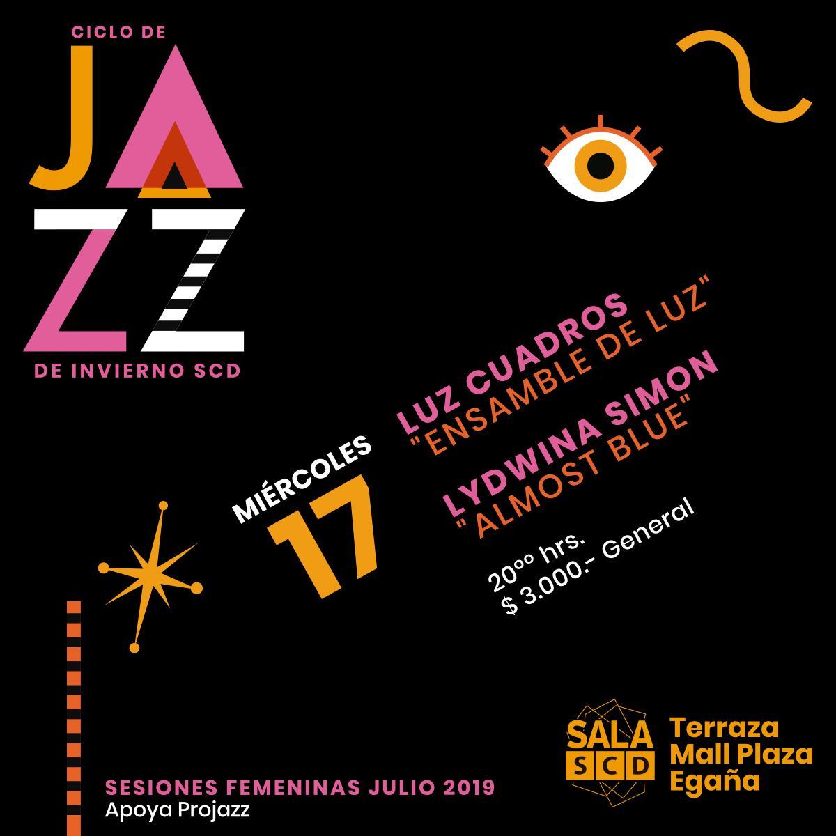 test Twitter Media - Buscas panorama para hoy 🎶? Sala SCD Egaña y su ciclo de jazz nos trae un imperdible concierto de LYDWINA SIMON y LUZ CUADROS 🎷 Toda la información en: https://t.co/wI22T9CoKw https://t.co/8n7jsEubtV