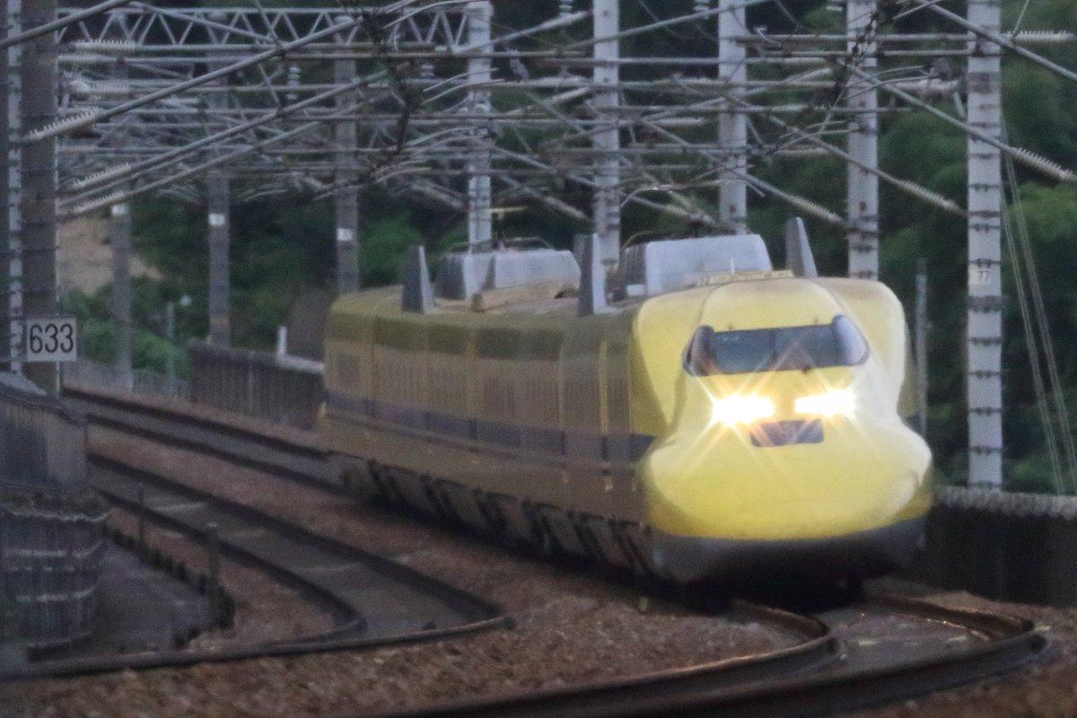 test ツイッターメディア - 山陽新幹線 大津トンネル西側 923形ドクターイエローT4編成 N700a X53編成  2019.7.17 https://t.co/ibTzBmRTXx