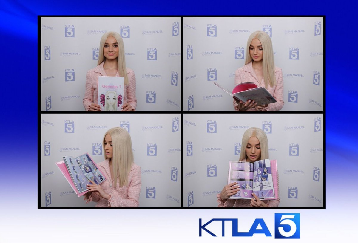 RT @poppy: Great news! I got to talk about Genesis 1 on @KTLA morning news.  #Genesis1 https://t.co/xb375Tim3l