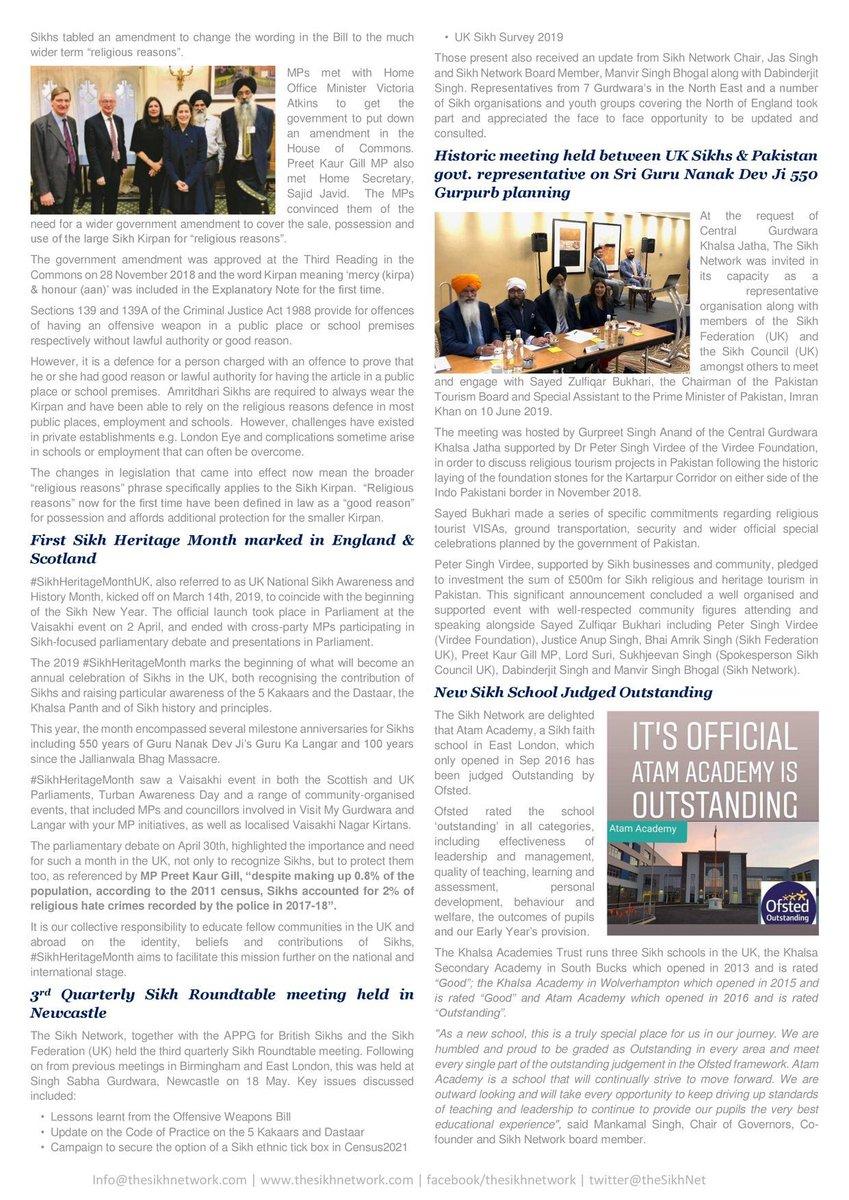 test Twitter Media - The Sikh Network Quarterly Newsletter #16 (Apr-Jun) https://t.co/RT0rq8T4Vp