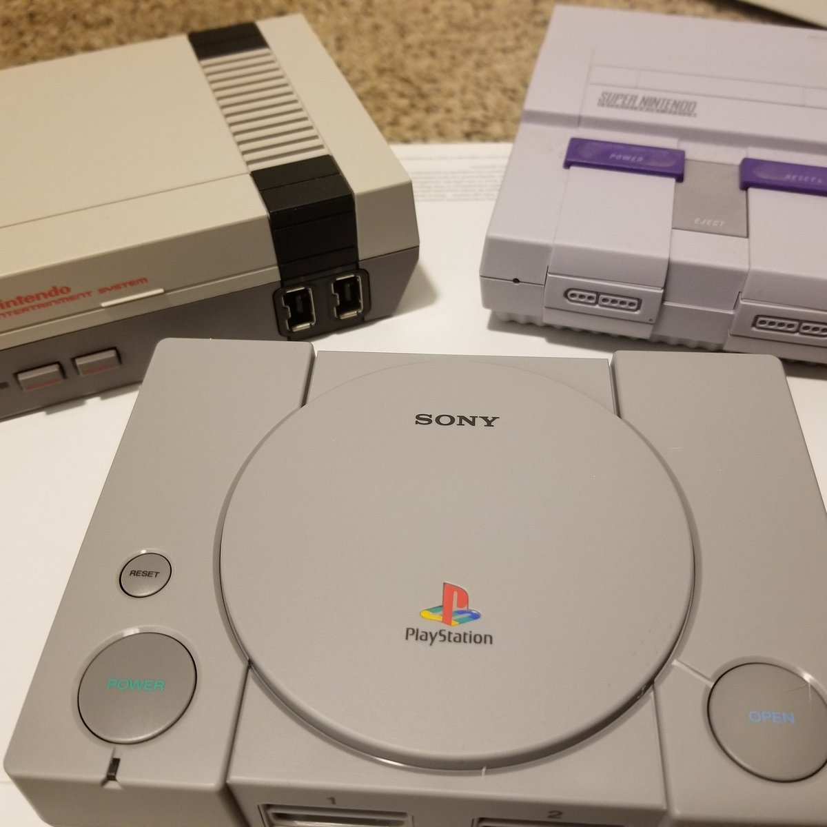 test Twitter Media - The Three Amigos. #Gaming #PSClassic #NESClassic #SNESClassic #Nintendo #PlayStation https://t.co/zkD0V09IuZ