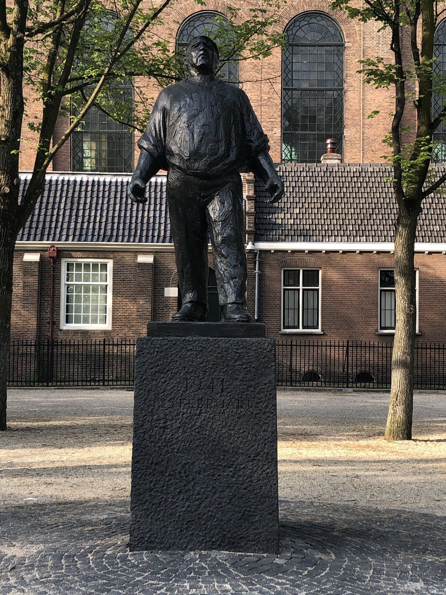 Long live the spirit, strength & solidarity of the #Dokwerker #Amsterdam #Resistance Always against fascism. https://t.co/adTgO9npRq