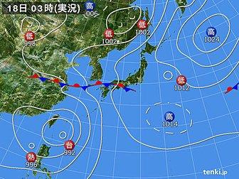 test ツイッターメディア - おはようございます🙋 今朝の気象情報情報です。  #台風5号⚡️🌀☔️ 熱帯低気圧が台風5号の南西下に発生、48時間後には台風と合体して無くなるが、台風の勢力が増し 986hPaに。 その後🌀大型台風🌀に発達する可能性有り。 #参院選投票日 7/21(土) 関東・東海方面は要注意 ⚡️☔️🌀🌊 https://t.co/4PojZrbWCA