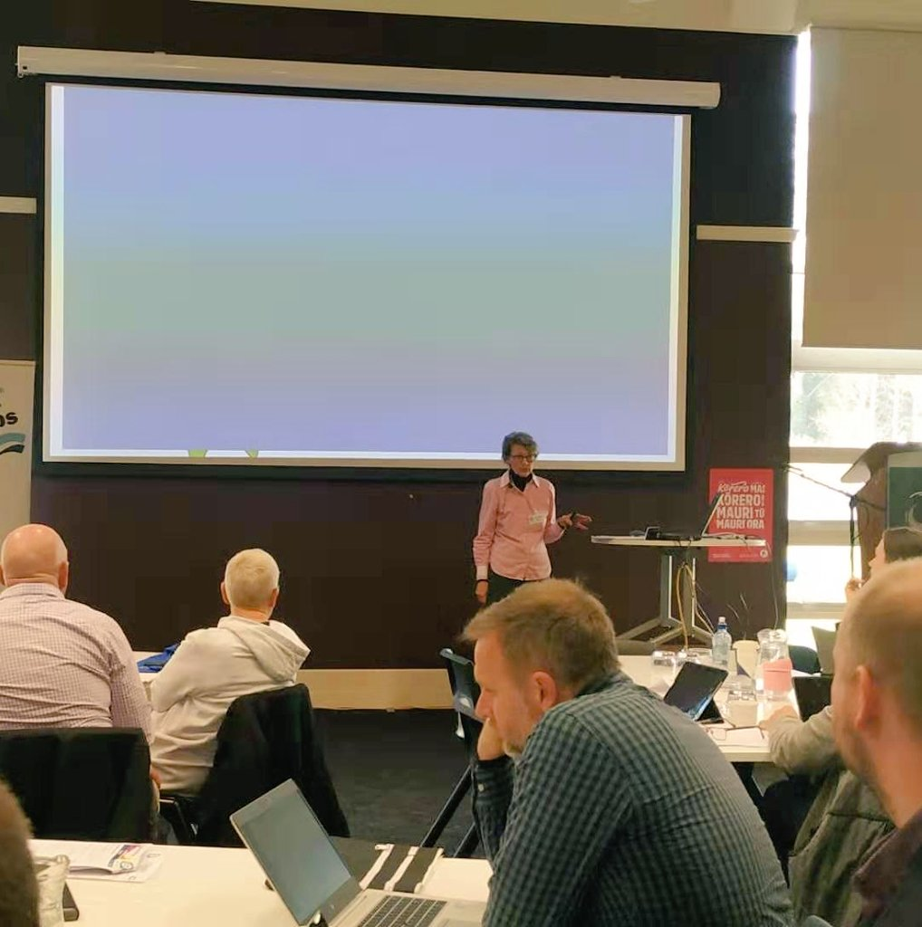 test Twitter Media - A slightly different spin from our other sessions on #digitization in education, and providing #equal #digitalaccess - Dr Mary Redmayne, Independent Researcher, on Dangers of Screen Overuse.  #ELF19NZ https://t.co/rStZqagGTK