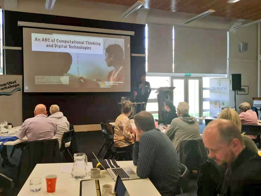 test Twitter Media - The new Digital Technologies Curriculum is not just about devices but more about people - Tim Bell, Department of Computer Science and Software Engineering, @UCNZ on 'an ABC of computational thinking and digital technologies'.  #ELF19NZ https://t.co/l5iwkqiPlV