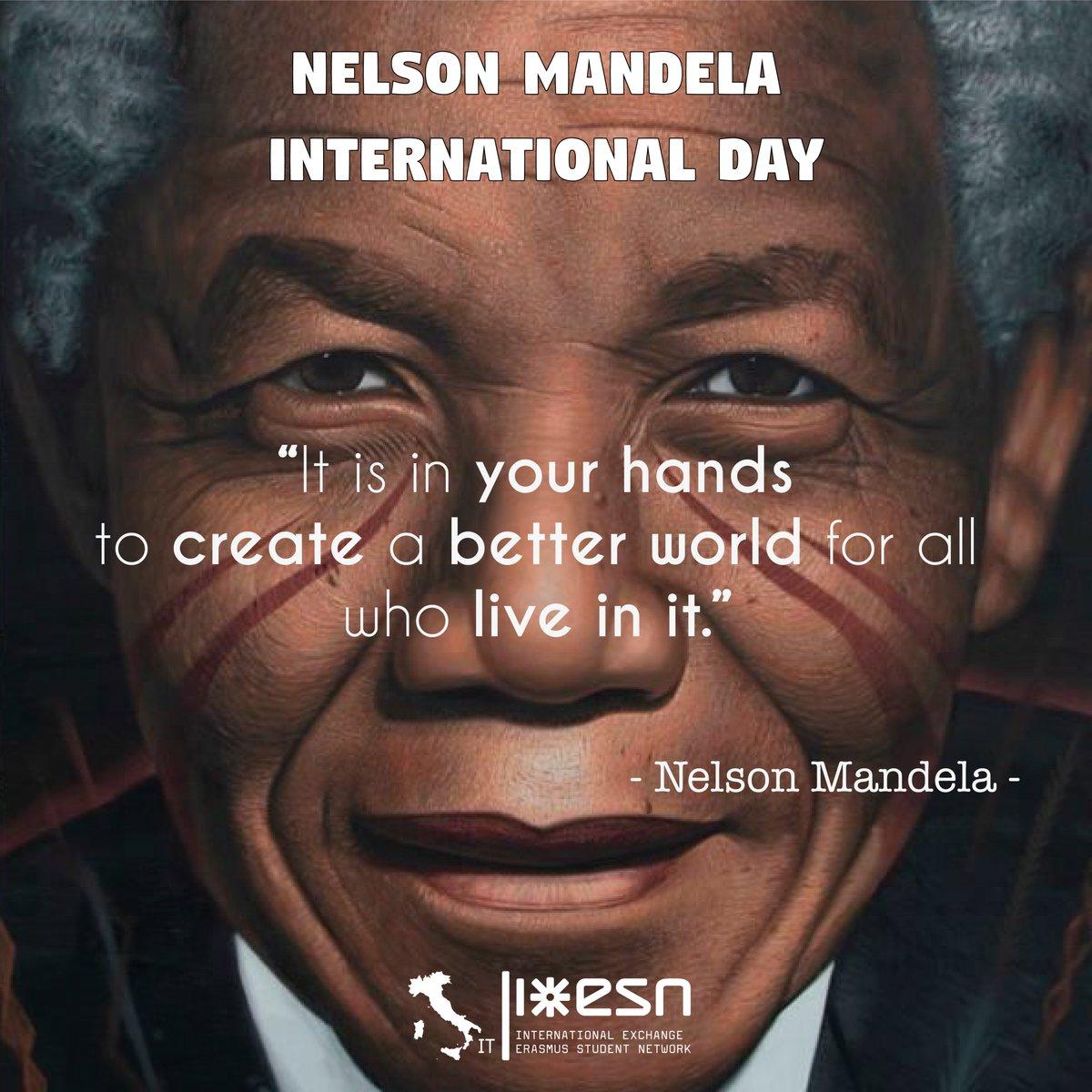 #NelsonMandelaDay