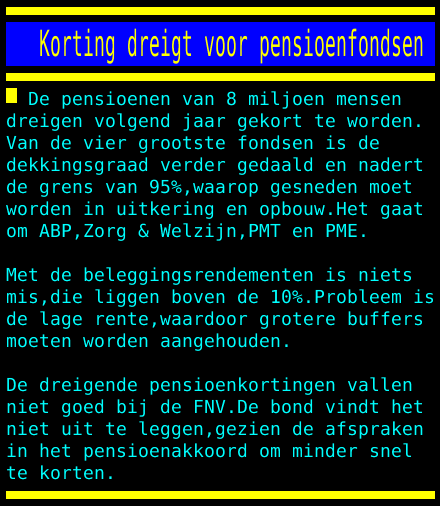 test Twitter Media - Korting dreigt voor pensioenfondsen https://t.co/IS7ob6maaa