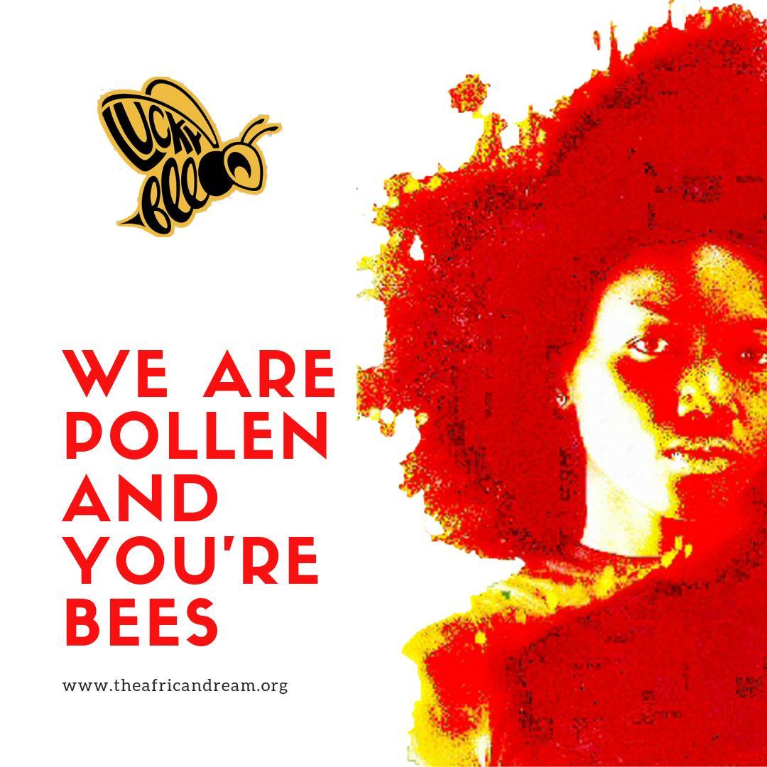 LUCKY BEES 🐝 • | POLLEN on https://t.co/64KWMGAPFp #Artists | Organic #CulturalDiversity | • https://t.co/UUA37C1nru
