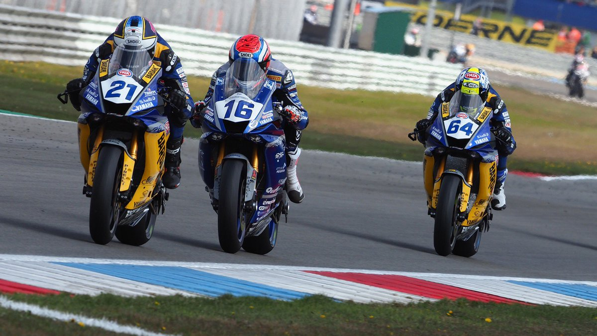 test Twitter Media - 👊🏻Yamaha claim #WorldSSP manufacturer's crown following 2019 dominance!  It was a seventh WorldSSP title for Yamaha and a third in as many years, following the unprecedented success achieved already in 2019!  📃| #WorldSSP  https://t.co/ieXTx5Fx1E https://t.co/lmHH8HlhlN