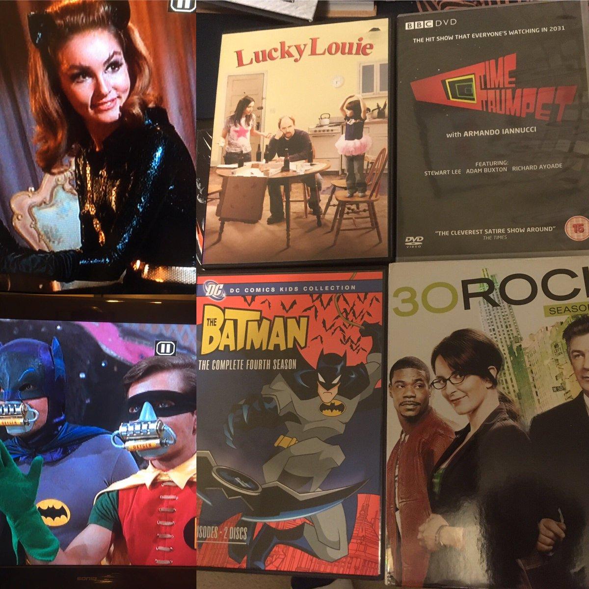 test Twitter Media - After a short gap watching Season 1 of 60's Batman I now move onto 2006 in my DVD TV viewing #batman #30rock #louisck #timetrumpet https://t.co/7DUqdfGVmS