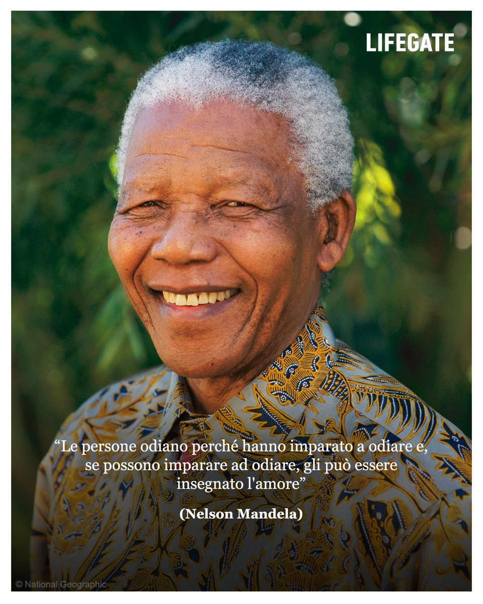 #NelsonMandelaDay