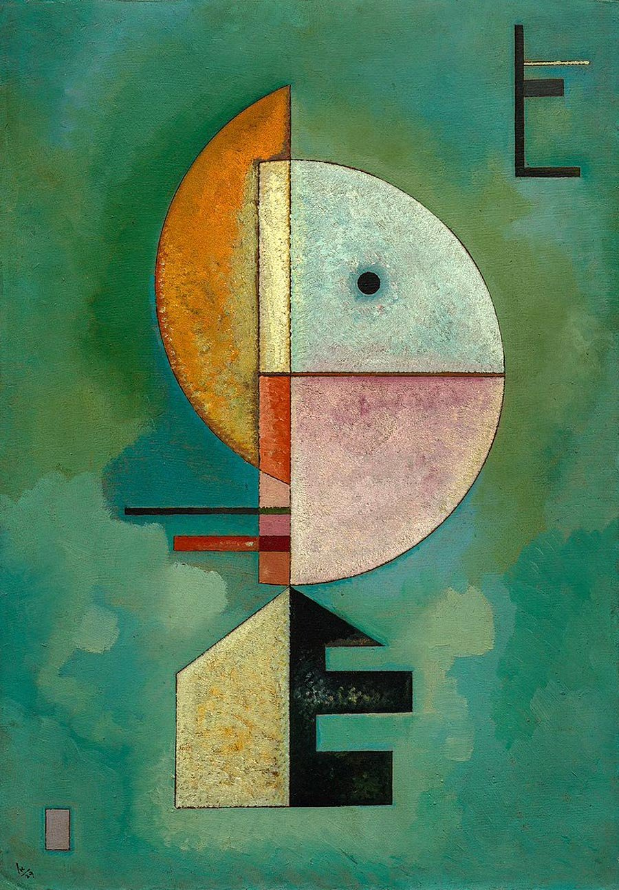 Upward Wassily Kandinsky Date: 1929 https://t.co/mlt6mZssyv