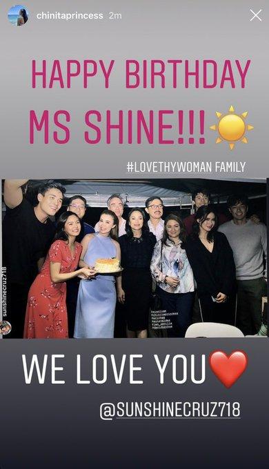 Happy Birthday Ms Sunshine!!      KimXi Kim Chiu Xian Lim