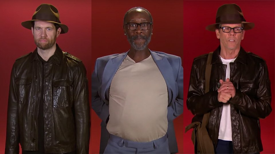 Watching random actors audition to play Indiana Jones is wonderfully