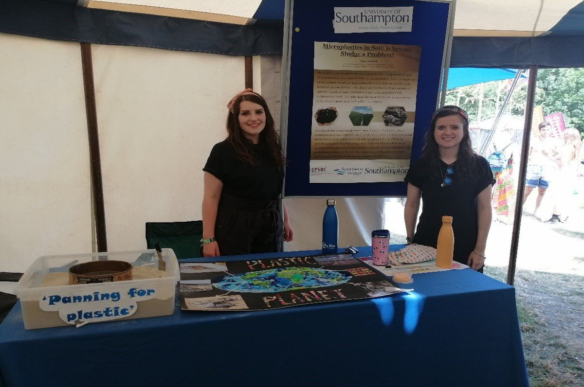 test Twitter Media - Freya and Mhairi, two CDT-SIS students, attended Glastonbury this year to talk about microplastics in soil. #microplastics #plastics #science #sustainability #sustainable #Southampton #Glastonbury #CDTSIS #EPSRC @UoS_Engagement @unisouthampton @bbcglasto https://t.co/fFU9aJUwfP