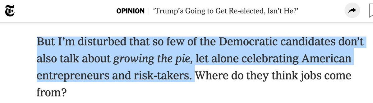 """test Twitter Media - Another day, another misnegation: Thomas Friedman, """"'Trump's Going to Get Re-elected, Isn't He?'"""", NYT 7/16/2019 [emphasis added]: I'm struck at how many people have come up to me recently and said, """"Trump's going to get re-elected, isn't he?"""" And in… https://t.co/ISu80Yeohc https://t.co/FSaBM92vva"""