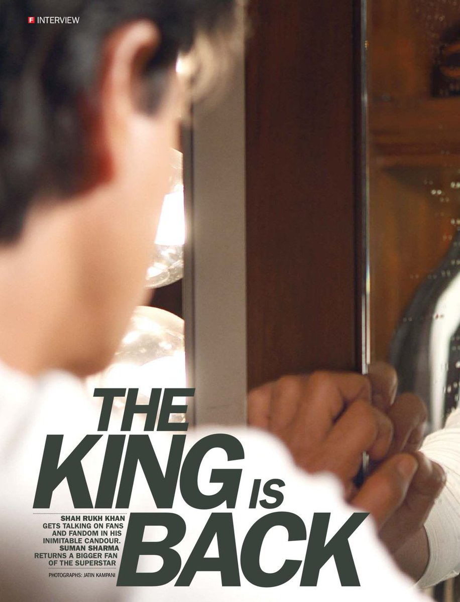 RT @SRKUniverse: We couldn't find a more relevant #FlashbackFriday 🦁 https://t.co/mCPOlVy5lq