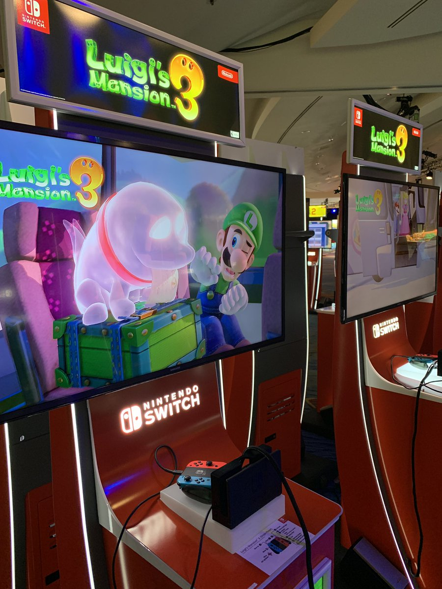 test Twitter Media - Kick off #SDCC2019 at Nintendo's Gaming Lounge in the ballroom at the Marriott Marquis & Marina. Stop by and be sure to demo the latest games, like #LuigisMansion3 and The Legend of #Zelda: Link's Awakening. #NintendoxSDCC https://t.co/Ip40VQOPtU