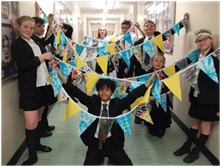 test Twitter Media - Ta-Dah!!!!!!! Design and technology summer bunting is now complete! Well done to all year 7 learners involved. Have a great summer!  #designandtechnology #summerbunting https://t.co/oXOQmurRLE