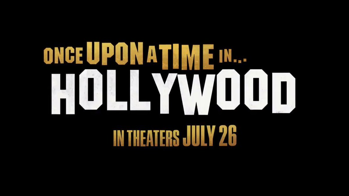 First clip. #OnceUponATimeInHollywood https://t.co/VhPR4mqiK2