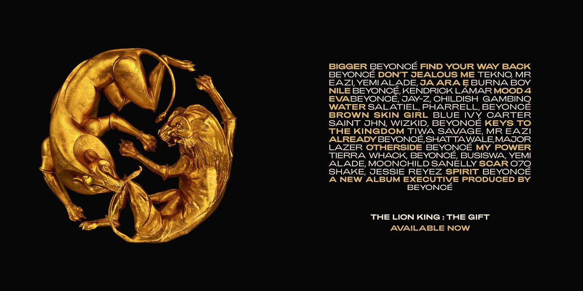 THE LION KING: THE GIFT available to stream and download now.https://t.co/FMpGiICL7X https://t.co/HqfgYoRVO9