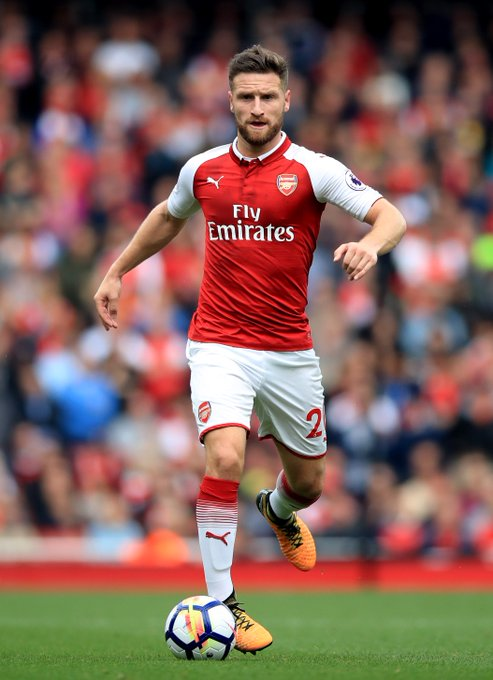 Happy 26th Birthday to Arsenal\s player of the season so far!   Shkodran Mustafi