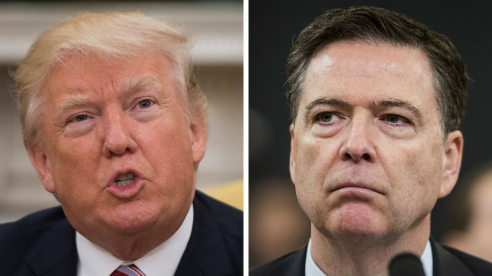"""Comey warns: We must not become numb to Trump's """"threats to the rule of law"""" https://t.co/X8Y4HBjWAn https://t.co/6yG0YqwYSs"""